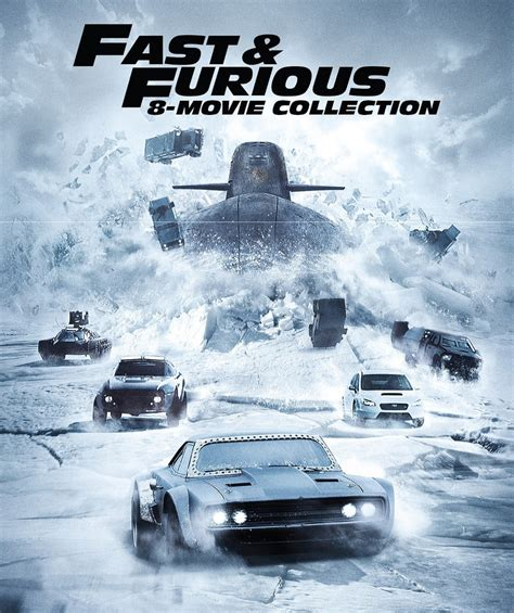 fast and furious 8 details fast furious 8 movie collection 8 disc set movies