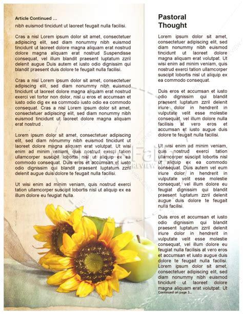 do good chuch newsletter template newsletter templates