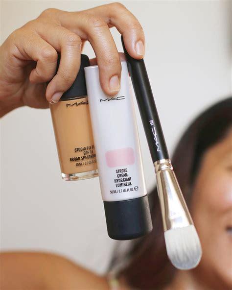 Mac Strobe mac studio fix strobe pinklight brush makeup