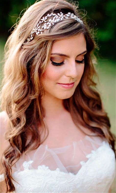 headband hairstyles medium hair bridal hairstyles for medium hair 32 looks trending this