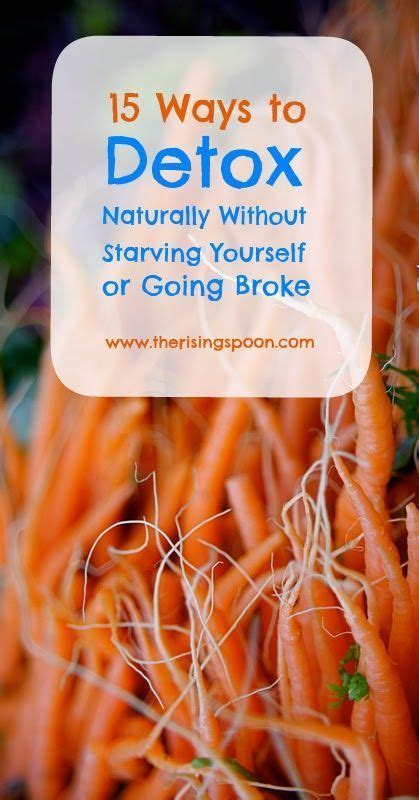Best Way To Detox Yourself Suboxone by Fifteen Ways To Detox Naturally Without Starving Yourself