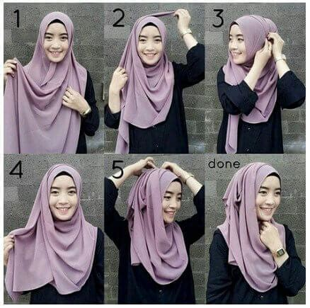 hijab tutorial simple look tanpa jarum dan peniti 20 tutorial hijab tanpa ciput ninja jarum pentul dan