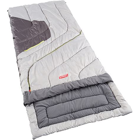coleman multi comfort sleeping bag coleman 30 70 degree big and tall adjustable comfort all