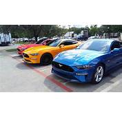2018 Mustang Refresh Released  Photos CJ