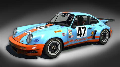 gulf porsche 911 ks porsche 911 rsr gulf racing racedepartment