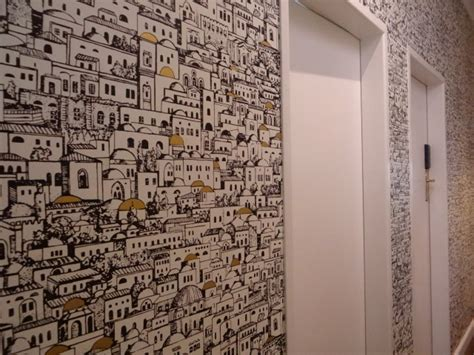 Window Coverings cole amp sons mediterainea wallpaper hallway mediterranean