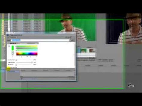 sony vegas pro green screen tutorial sony vegas pro chromakey tutorial with mark apsolon youtube