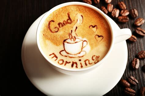 good morning coffee wallpaper coffee beans cup good morning coffee hd wallpaper