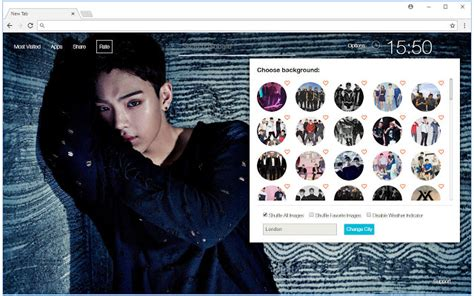 gmail themes kpop monsta x wallpapers hd new tab k pop themes chrome web store