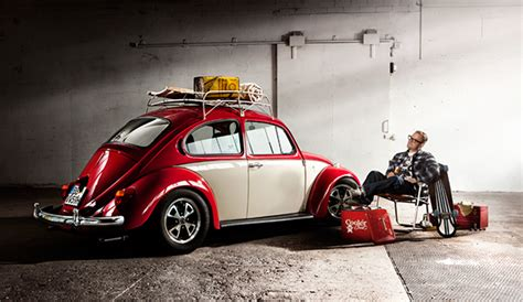 Zweifarbig Lackieren Auto by Oldtimer Calendar On Behance
