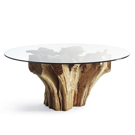teak root table majestic teak root dining table the green