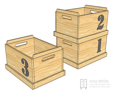 wood workwooden toy box plans    build diy