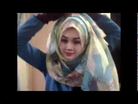 tutorial hijab pengantin ala inivindy tutorial wide shawl ala arab hijab pinterest shawl