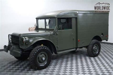 1964 Dodge Power Wagon Ambulance Straight 6 4speed 4x4   1964 dodge power wagon ambulance straight 6 4speed 4x4