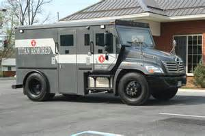 Armored Truck Employment by Armored Courier Car Pictures Car