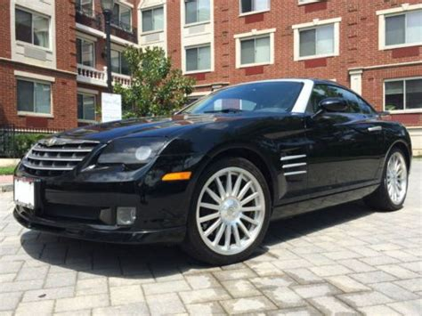 Buy Chrysler Crossfire by Buy Used 2005 Chrysler Crossfire Srt 6 Coupe Carfax