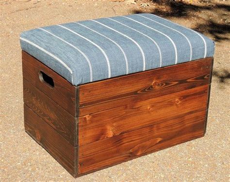 ottoman file storage seat cedar wooden crate stool seat file storage by