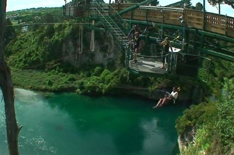 taupo bungy swing bunji jumping taupo picture of taupo bungy taupo