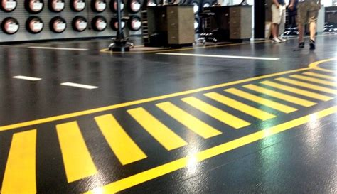 Concrete Floor Marking and Striping 101
