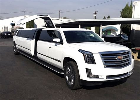 escalade limousine new 2017 escalade limousine rental in nyc and nj