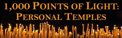 1000 Points Of Light by The Golden A Santeria Personal Temple 1 000