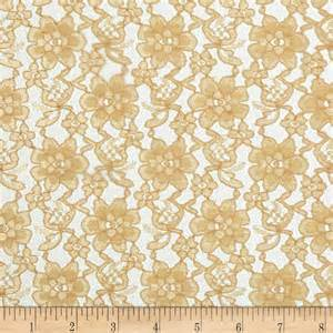 White Crochet Curtains Lace Fabric Lace Fabric By The Yard Fabric Com