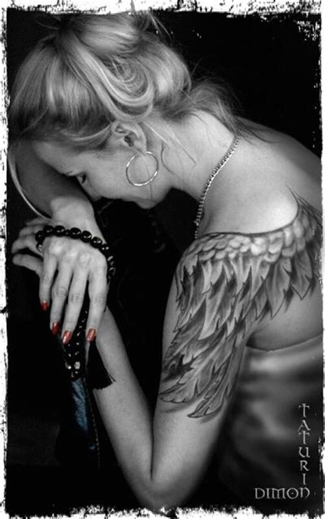 angels tattoos  shoulders tattoomagz handpicked world