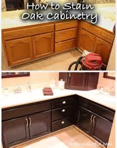 stain oak kitchen cabinets staining oak kitchen cabinets black color quartz countertops dark interior mykitcheninterior