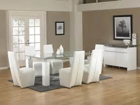 White Glass Dining Room Table 18 Sleek Glass Dining Tables