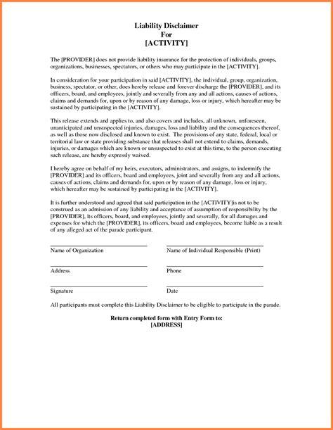 Employment Letter Disclaimer 11 Disclaimer Notices Templates Notice Letter