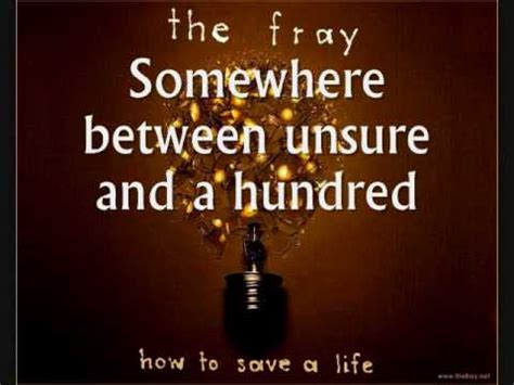 Hundred Th Fray | the fray hundred lyrics letssingit lyrics
