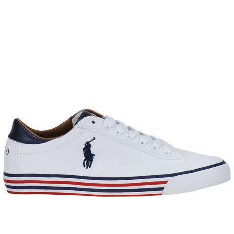 ralph white sneakers polo ralph sneakers shoes in white for lyst
