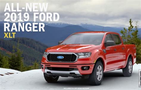 ford ranger trim levels