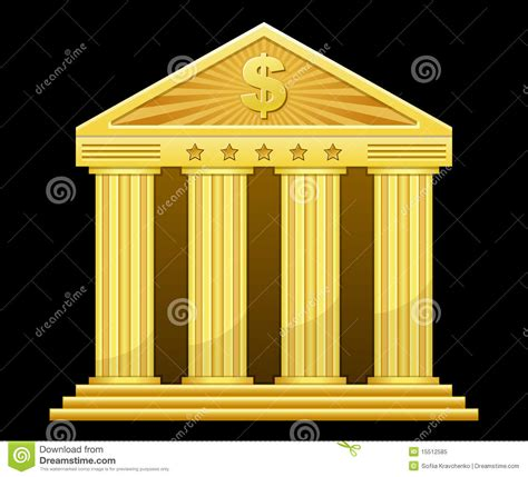 gold bank gold bank royalty free stock photo image 15512585