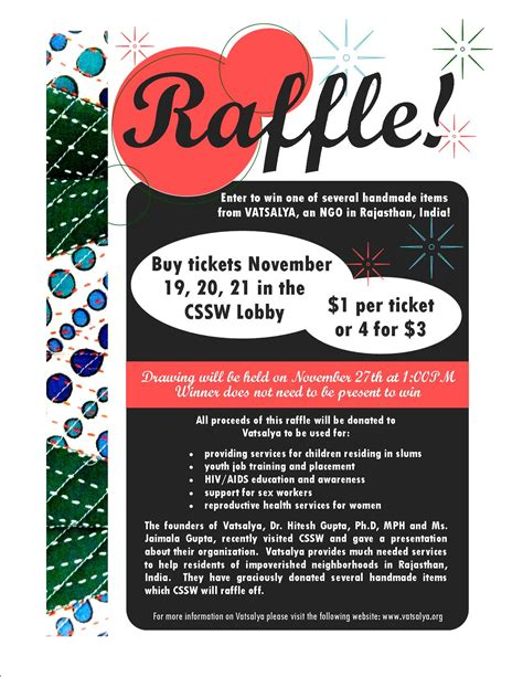 free templates for raffle flyers raffle fundraiser flyer bing images