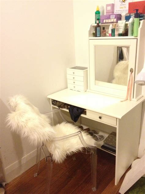 vanity bench ikea ikea makeup table hack www pixshark com images