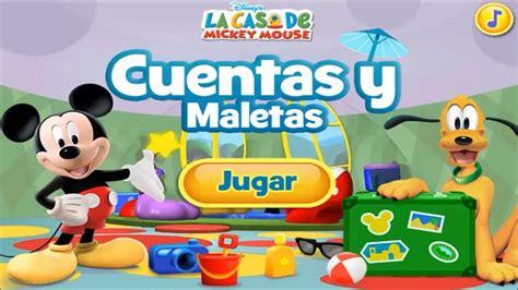 la casa de mickey mouse online la casa de mickey mouse cuentas y maletas juegos en