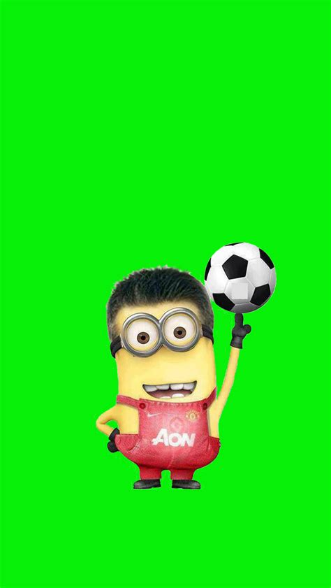 minions wallpaper for iphone 5 hd minion soccer iphone 5 wallpaper 640x1136