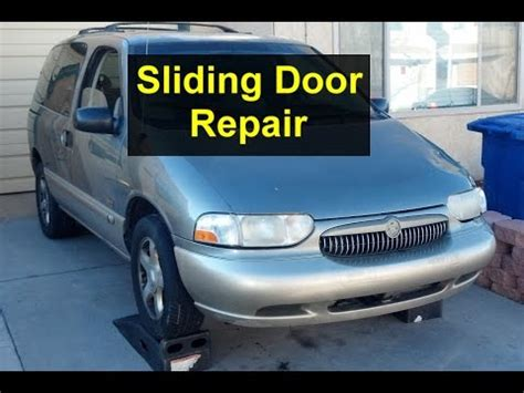 Buick Terraza Sliding Door Problems sliding door panel removal handle replacement buick doovi