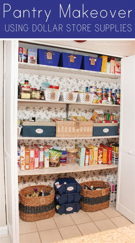 Dollar Store Pantry by Cool Dollar Store Organizing Storage Ideas Noted List
