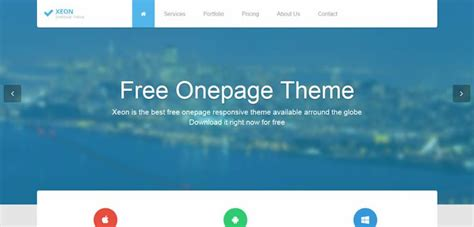 bootstrap themes free blue 50 free bootstrap templates themes