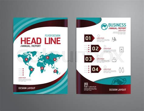 design poster template vector brochure flyer magazine cover booklet poster