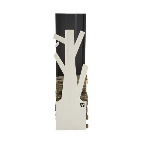 portalegna per camino portalegna di design da interno in acciaio verniciato plva 028