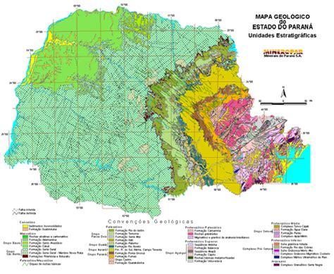 imagenes satelitales para geologia mapa geol 243 gico diretoria de geologia mineropar