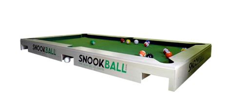 soccer pool table snookball soccer on a pool table