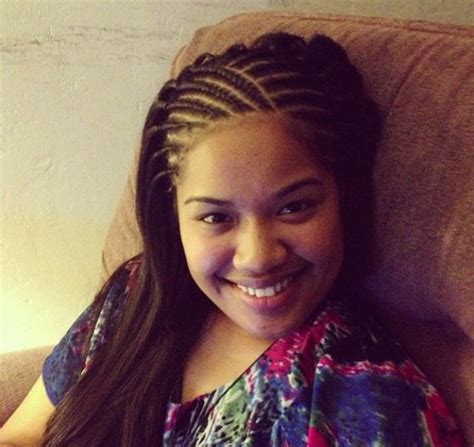cornrow hairstyles half head best 25 half cornrows ideas on pinterest