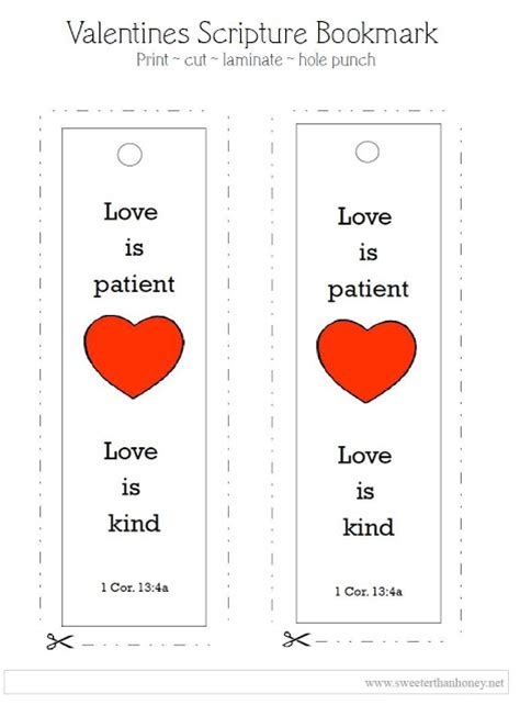 printable bookmarks valentine s day test blog 5 printable valentines day bookmarks