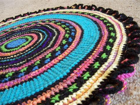 crochet rug yarn custom crochet rug reversible yarn crochet by margaret b rugs custommade
