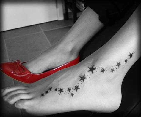 star tattoos on foot 1000 ideas about tattoos on foot on ear