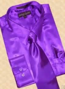 what color tie with purple shirt satin purple dress shirt tie hanky set